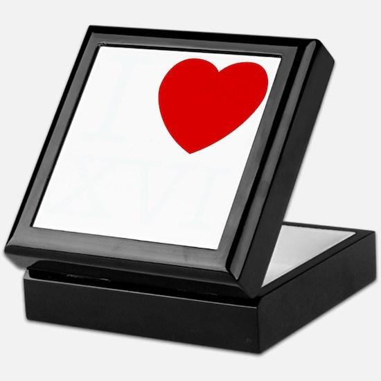 I_Love_XVI_Dark Keepsake Box