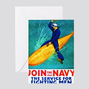 torpedo Greeting Card