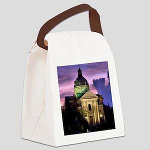 Spring Lake Church Canvas Lunch Bag