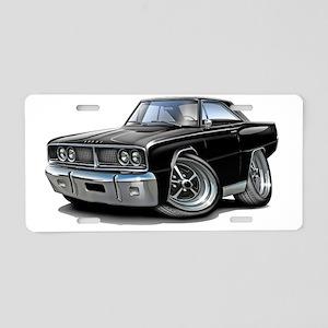 1966 Coronet Black Car Aluminum License Plate