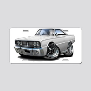1966 Coronet White Car Aluminum License Plate
