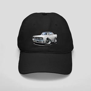 1966 Coronet White Car Black Cap