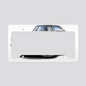 1966 Coronet White Car License Plate Holder