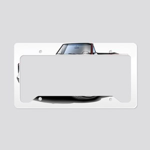 1966 Coronet Maroon Convertib License Plate Holder