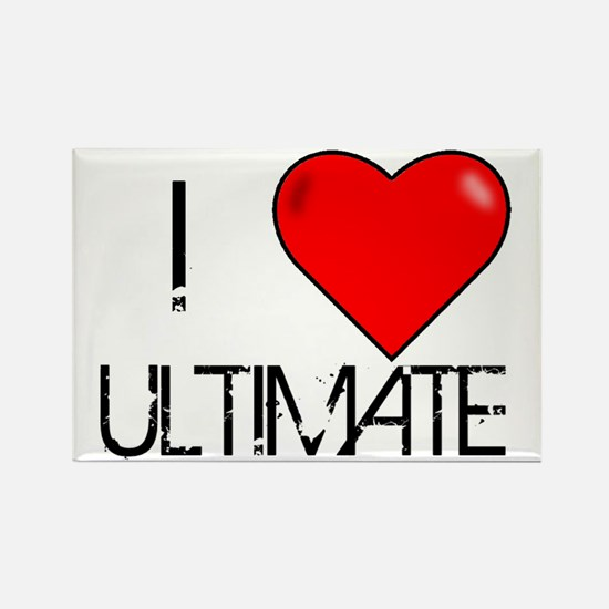 I Love Ultimate Rectangle Magnet