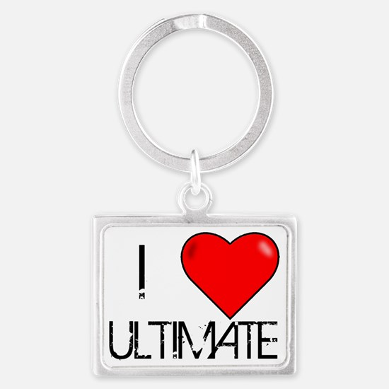 I Love Ultimate Landscape Keychain