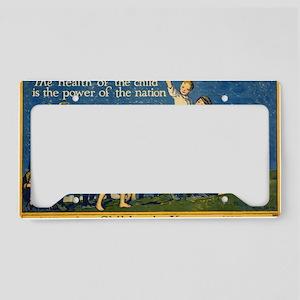 Childrens Year License Plate Holder