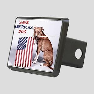 Save Americas Dog Rectangular Hitch Cover
