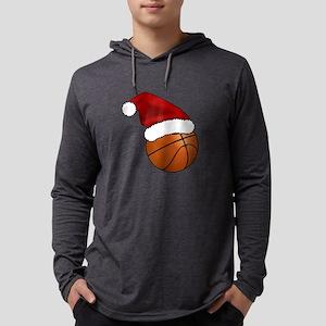Christmas Basketball Long Sleeve T-Shirt