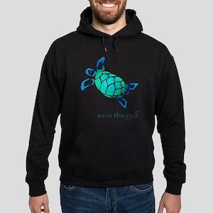 turtle-pap-blue-grad Hoodie (dark)