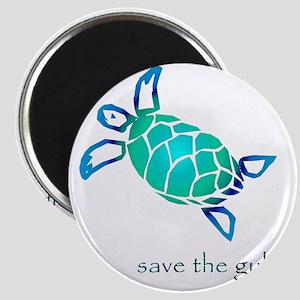 turtle-pap-blue-grad Magnet