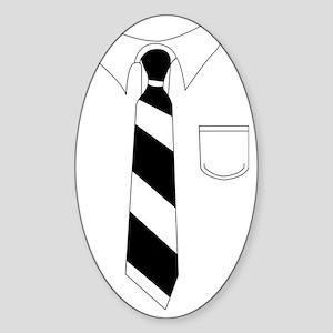 Suit Sticker (Oval)