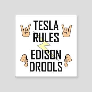 Tesla Rule Sticker