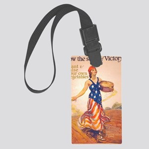 Sow Seeds Large Luggage Tag