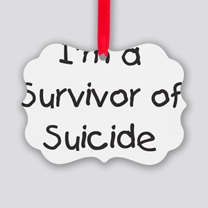 kids_survivor_of_suicide Picture Ornament