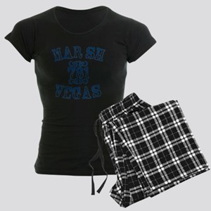 marsh-vegas Women's Dark Pajamas