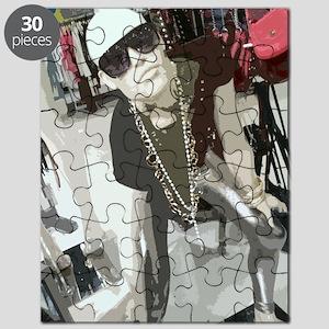 Manequin on edge Puzzle