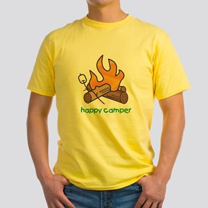 2-campfire Yellow T-Shirt