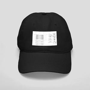 shirt_windows Black Cap