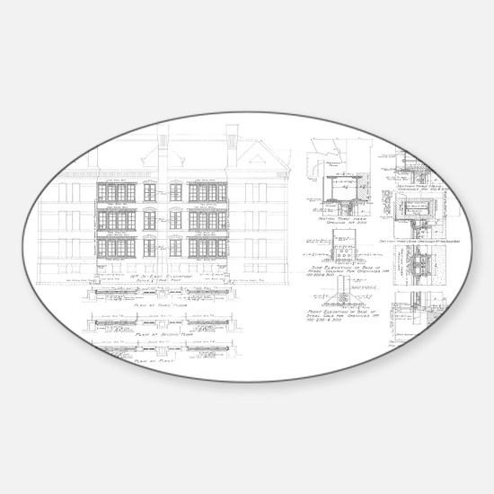 shirt_windows.gif Sticker (Oval)