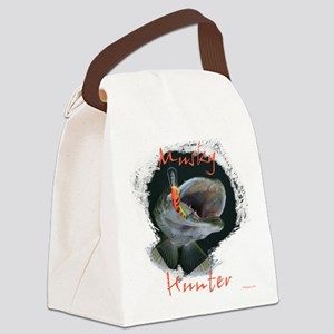 Musky Hunter Canvas Lunch Bag