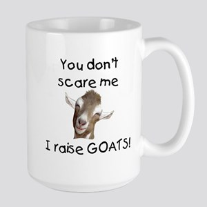 GOAT- You Don't Scare me Large Mug