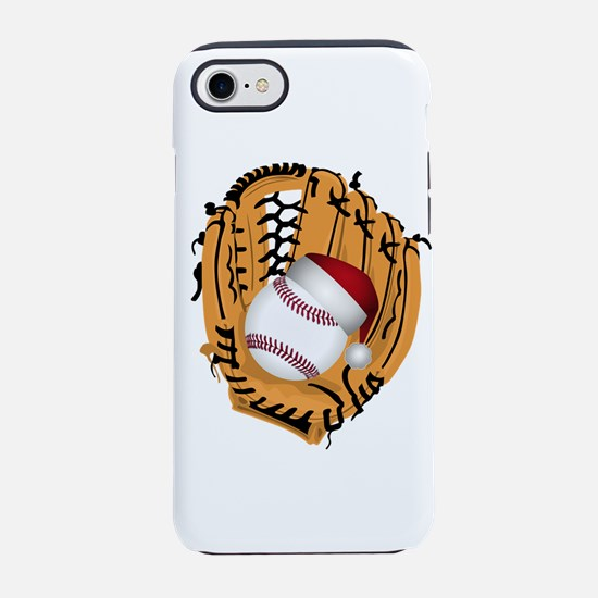 Christmas Baseball iPhone 7 Tough Case