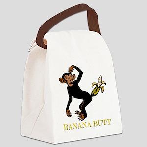banana butt Canvas Lunch Bag