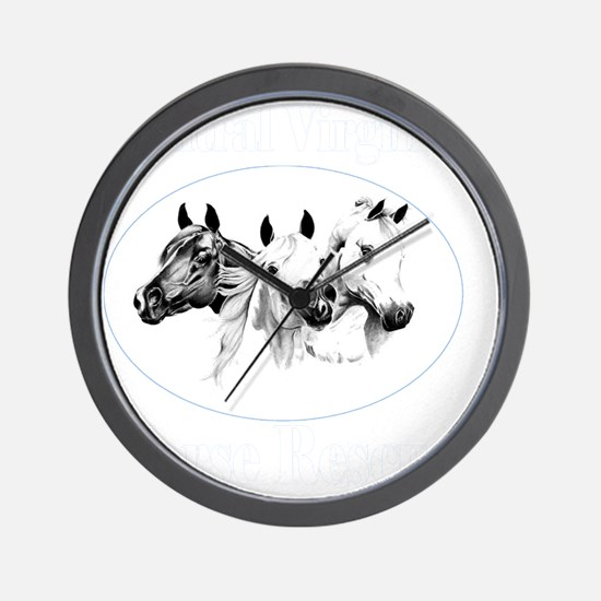 va-dark10x10_apparel Wall Clock
