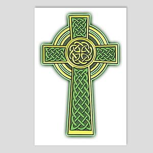 Celtic Cross 2 light Postcards (Package of 8)