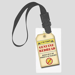 genuine redhead tag light Large Luggage Tag
