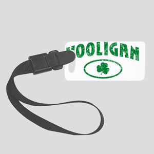 hooligan_distressed_light Small Luggage Tag