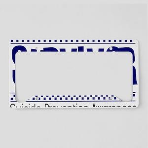 blue_survivor License Plate Holder