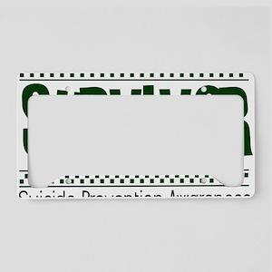 green_survivor License Plate Holder
