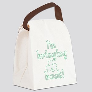 im bringing sharock dark Canvas Lunch Bag