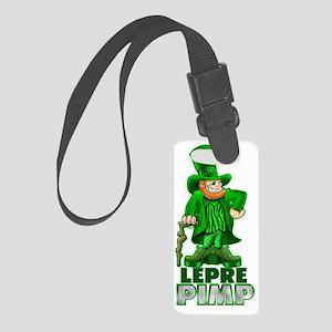 leprepimp_light Small Luggage Tag