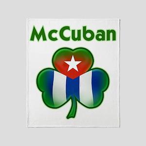 McCuban_both Throw Blanket