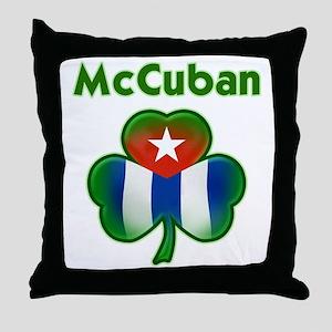 McCuban_both Throw Pillow