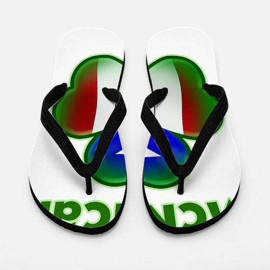 McRican_both Flip Flops