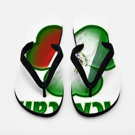 McXican_dark Flip Flops