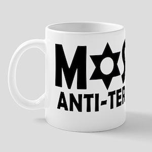 Mossad black Mug