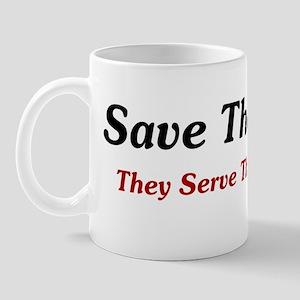 Save The Males BS Mug