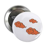"Orange Cloud Paiting 2.25"" Button (10 pack)"