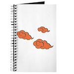 Orange Cloud Paiting Journal