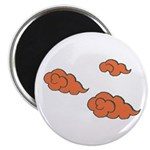 "Orange Cloud Paiting 2.25"" Magnet (10 pack)"