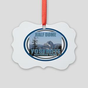half dome Picture Ornament