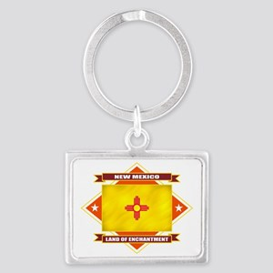 2-New Mexico diamond Landscape Keychain