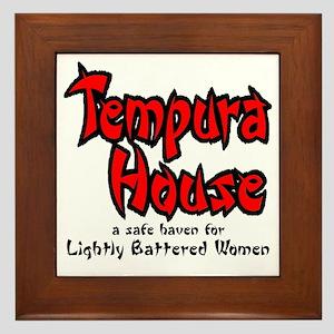 tempura Gals Framed Tile