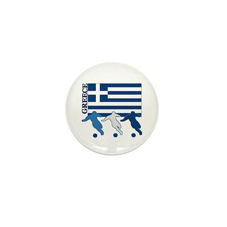 Soccer Greece Mini Button (100 pack)