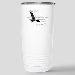 2-Eagle Stainless Steel Travel Mug